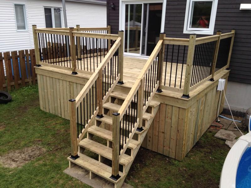 construction ou r novation de patio qu bec construction p moisan. Black Bedroom Furniture Sets. Home Design Ideas
