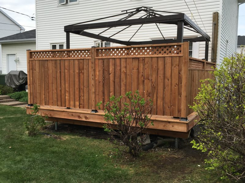 Construction Ou Renovation De Patio A Quebec Construction P Moisan